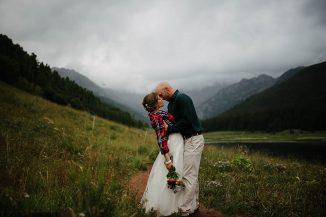 Piney lake wedding