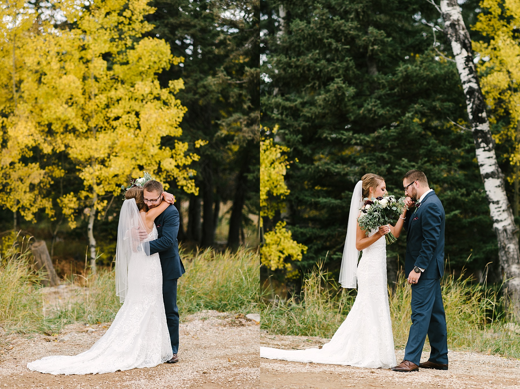 black hills fall wedding